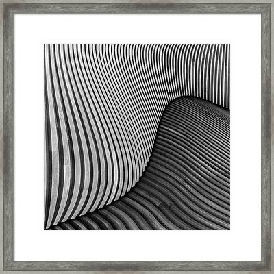 The Wood Project I - Tangled Wood Framed Print