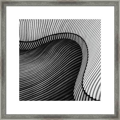The Wood Project II - Sea Shore Framed Print