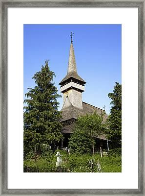The Wooden Church (biserica De Lemn Framed Print