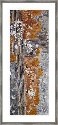 The Wooden Cross Framed Print by David Raderstorf