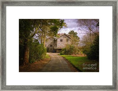 The Wooden House Framed Print
