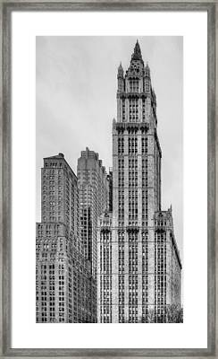 The Woolworth Downtown Framed Print by JC Findley