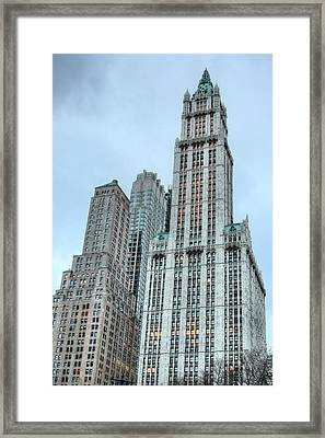The Woolworth  Framed Print