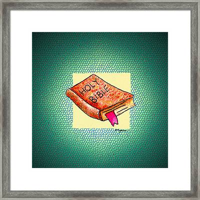 The Word Framed Print