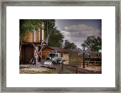 The Work Goose Framed Print by Ken Smith