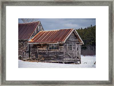 The Work Shed Framed Print by Alana Ranney