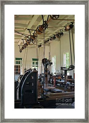 The Work Shop Framed Print