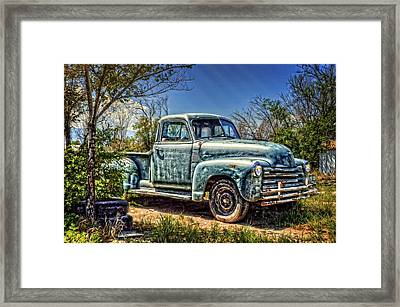 The Work Truck Framed Print by Ken Smith