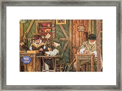 The Workers Framed Print by Camille Lopez