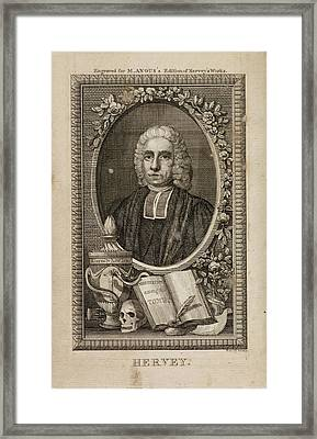 The Works Of The Late Reverend James Herv Framed Print by British Library