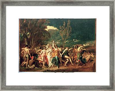 The World Before The Flood Framed Print by William Etty