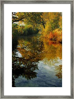 The World Below Your Feet  Framed Print