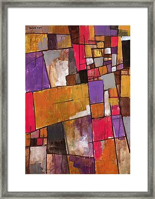 The World Fell Away Framed Print by Douglas Simonson