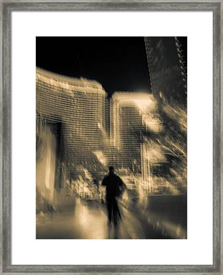 Framed Print featuring the photograph The World Is My Oyster by Alex Lapidus