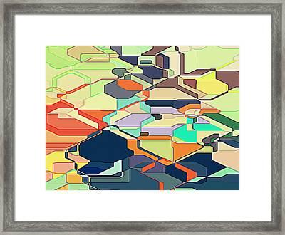 The World Is Yours Framed Print by Gustav Boye
