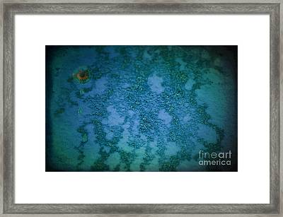 The World View Framed Print by The Stone Age