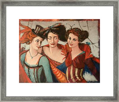 The World's A Stage Framed Print by Jennifer Croom