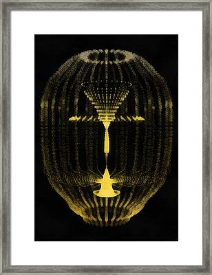 The Wormhole Framed Print