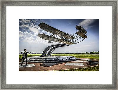 The Wright Flyer Framed Print