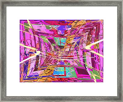 The Writing On The Wall 17 Framed Print by Tim Allen