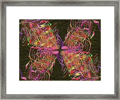 The Writing On The Wall 19 Framed Print by Tim Allen