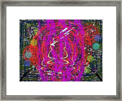 The Writing On The Wall 20 Framed Print by Tim Allen