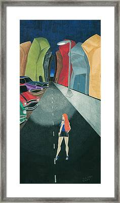 The Wrong Street Framed Print by Heather Edgar
