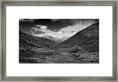 The Wrynose Pass  Framed Print by Rob Hawkins