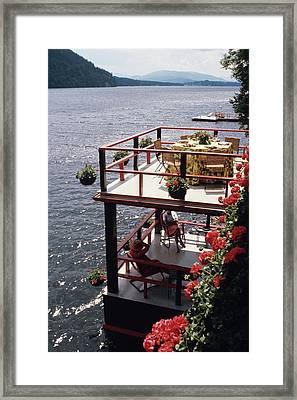 The Wyker's Deck Framed Print