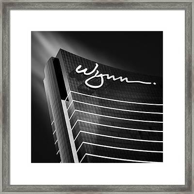 Wynn Framed Print