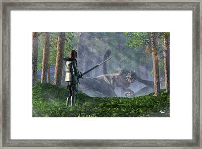 The Wyvern Framed Print