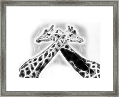 The X Framed Print
