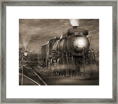 The Yard 2 Framed Print by Mike McGlothlen
