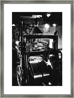 The Yardstick Press Framed Print by Dennis Bucklin