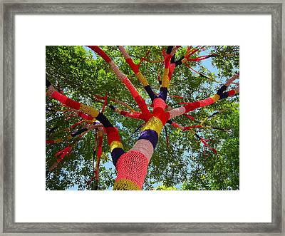 The Yarn Tree Framed Print