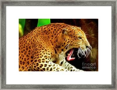 The Yawn Framed Print