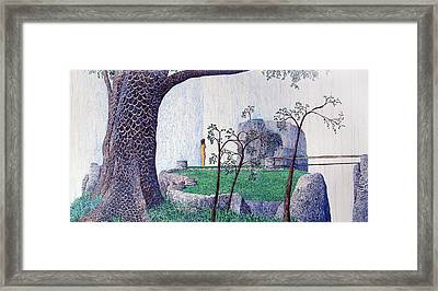 The Yearning Tree Framed Print