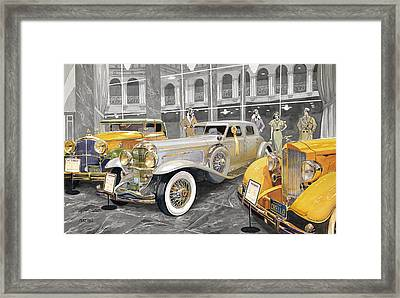 The Yellow Ribbon Framed Print by Mike Hill