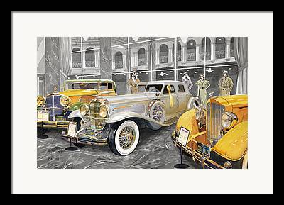 Collector Cars Framed Prints