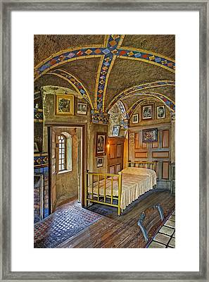 The Yellow Room At Fonthill Castle Framed Print