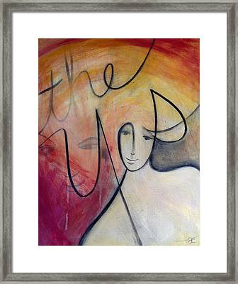 The Yes Framed Print
