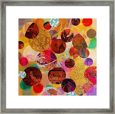 The Yin And  Yang Of It All Framed Print by Melinda Jones