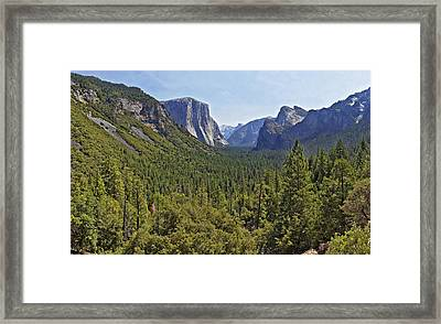 The Yosemite Valley Framed Print