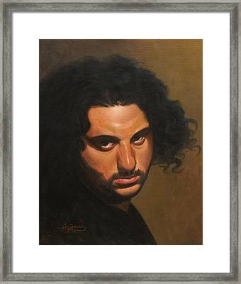 The Young Italian Framed Print by Gary  Hernandez