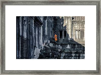 The Young Monk Framed Print