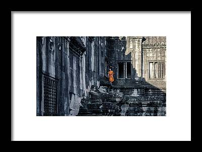Angkor Framed Prints