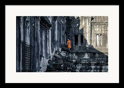 Siem Reap Framed Prints