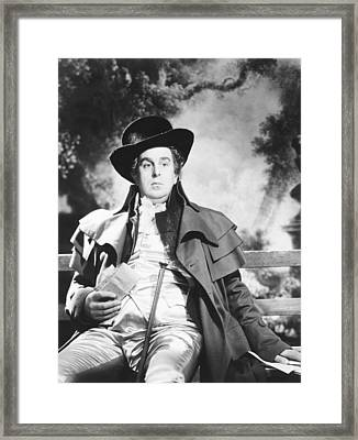 The Young Mr. Pitt, Robert Morley Framed Print