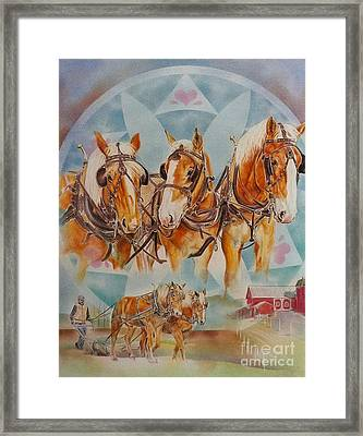 The Young One Framed Print by Gail Dolphin