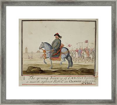 The Young Viceroy Of Canton Framed Print